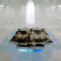 Отель из льда Icehotel в Кируне в Швеции
