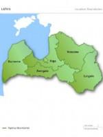 карта латвии на русском