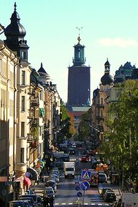 Швеция. Стокгольм. Юргорден и Кунгсхольмен