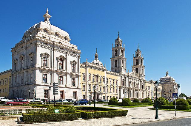 Достопримечательности Португалии. Дворец Марфа