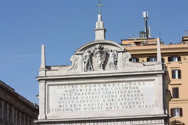 Расстояние от Рима с исторической точки зрения