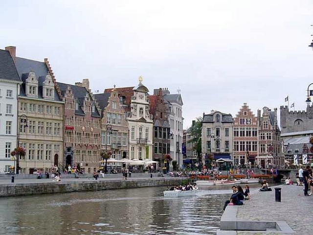 Бельгия. Достопримечательности Гент