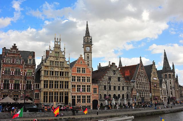 Бельгия. Гент – Старый город