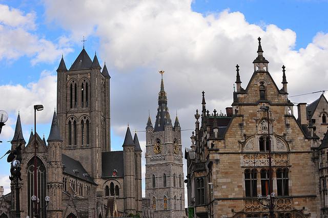 Бельгия. Гент – музеи и соборы