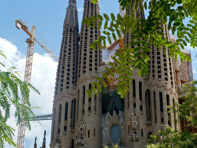 Испания. Барселона. Достопримечательности архитектуры