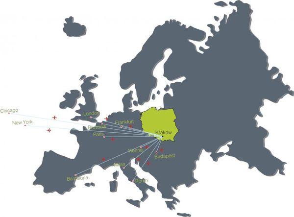 Как добраться до Кракова с аэропорта?