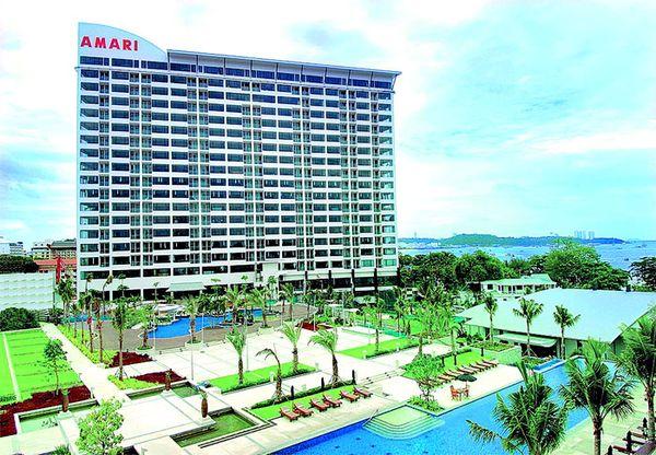 Популярные четырехзвездочные отели Паттайи
