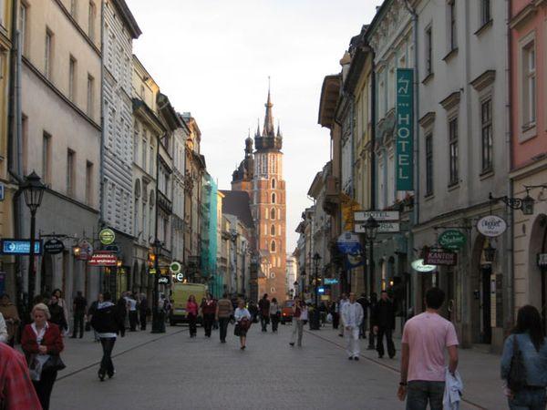 По каким улицам Кракова стоит прогуляться