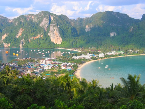 Перешеек на юге Таиланда
