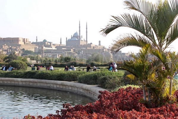 Маршруты в Каире парк Аль Азхар
