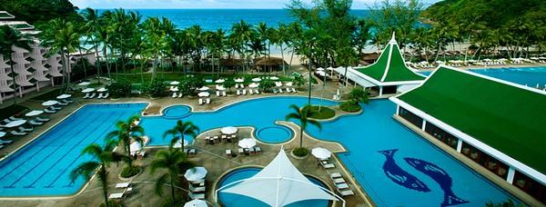 Отели Пхукета с собственным пляжем Le Meridien Patong