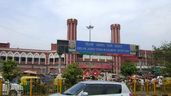Специфика вокзалов Дели